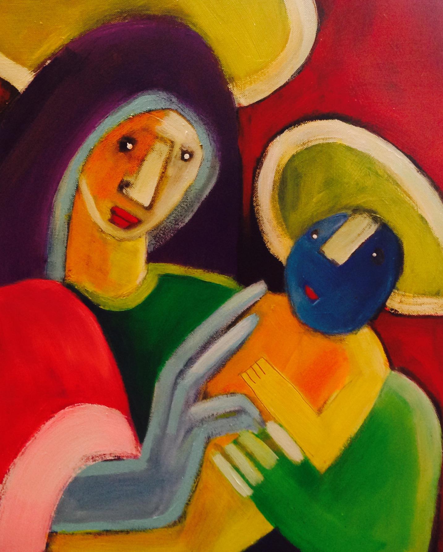 Maria og Jesus. solgt